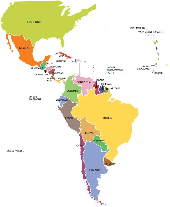 Gut gemocht Voyage en Amérique Latine, choisissez votre destination OU95